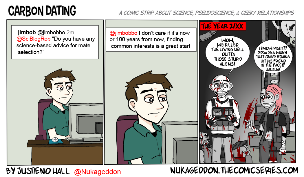 Guest strip Carbon Dating